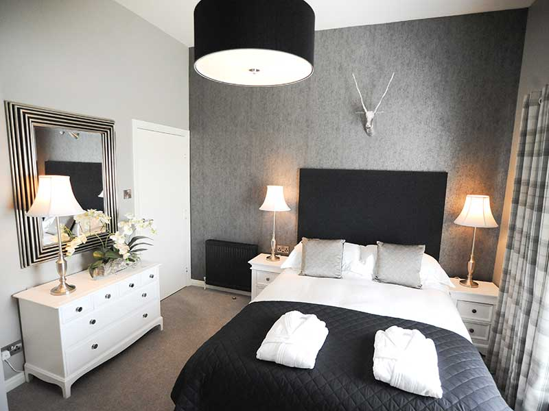 Stirling Luxury Apartment Bedroom