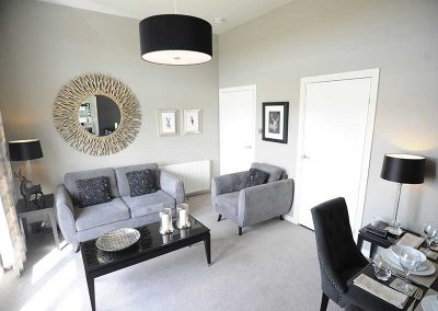 Stirling Luxury Apartment - Living Room