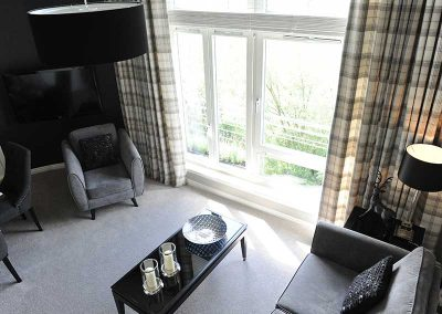 Stirling Luxury Apartment - Living Room Window